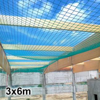Siatka asekuracyjna dekarska 3x6m