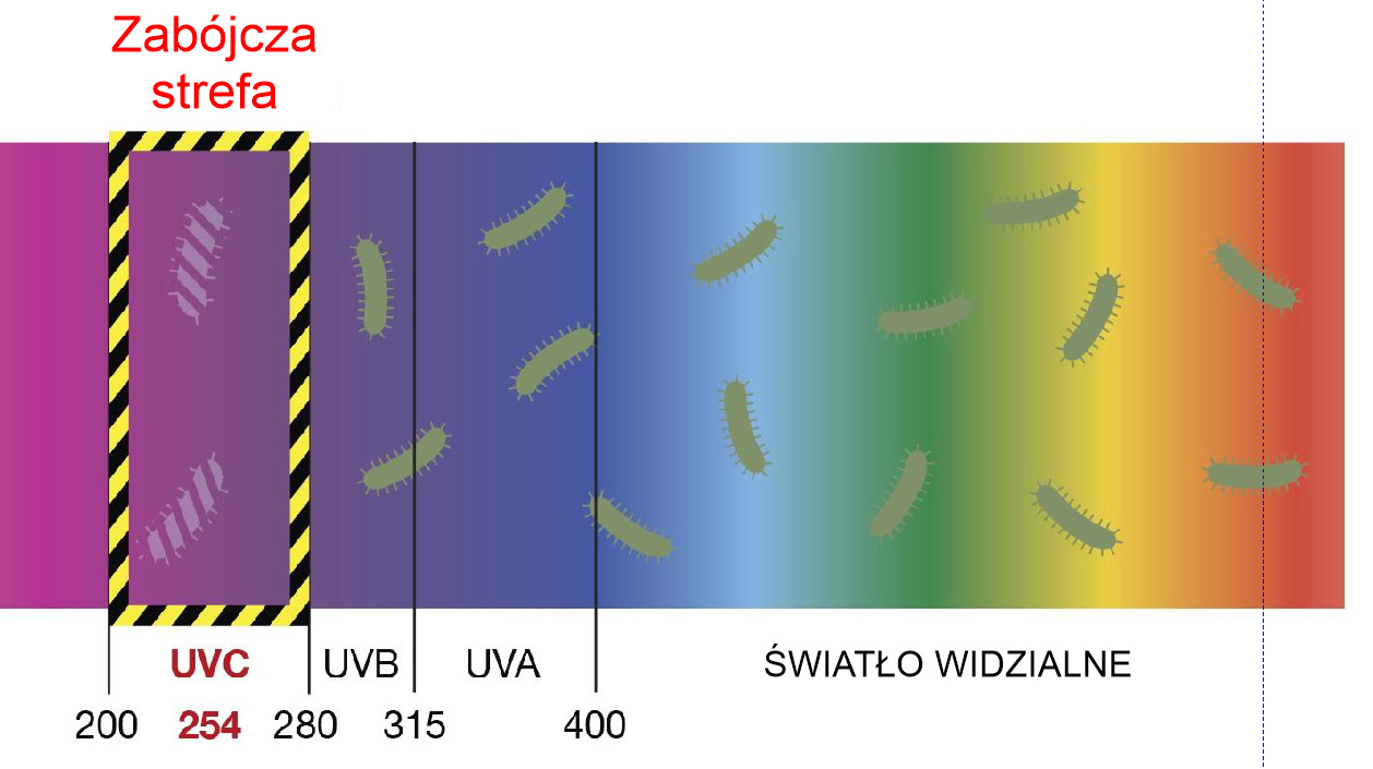Dezynfekcja UV pomieszczeń